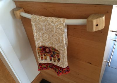 Kitchen Towel Holder & Shower Curtain Rail