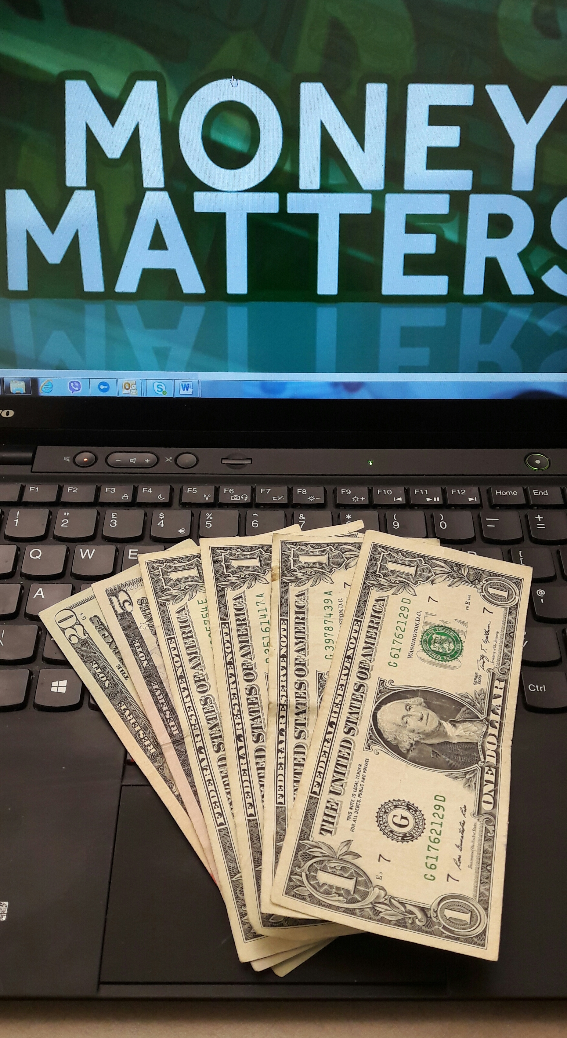 Money matters – part 1