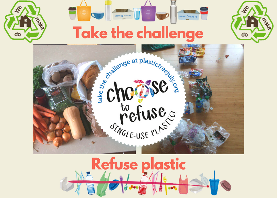 Plastic Free July Again